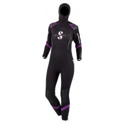 Vêtement semi-sec de plongée Scubapro Sport 7mm 2016 pour femme, chaud, souple et confortable comme une seconde peau