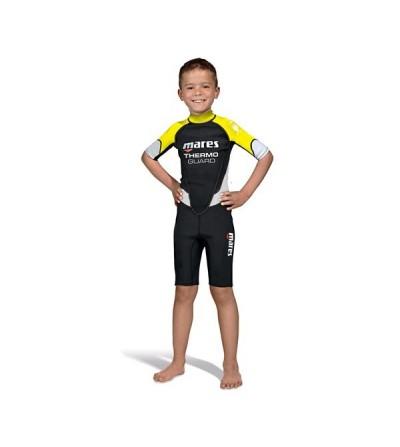 Combinaison shorty enfant pour eau chaude Mares Thermo Guard 1.5mm pour la plongée & snorkeling ou en sous-combinaison
