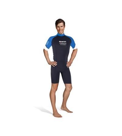 Combinaison shorty homme pour eau chaude Mares Thermo Guard 1.5mm pour la plongée & snorkeling ou en sous-combinaison