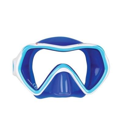 Masque enfant monoverre léger Mares Comet en silicone pour la plongée et le snorkeling - Plongeur & plongeuse junior