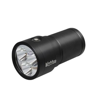 Phare de plongée à LED bigblue TL3500P supreme pour l'exploration et la plongée Tech - 4 niveaux d'intensité, faisceau étroit