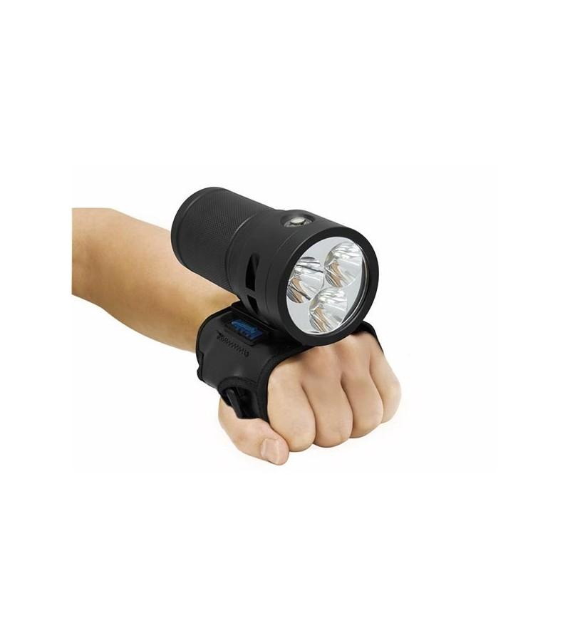 Gant Goodman TLG Bigblue en néoprène pour une utilisation main libre du phare TL4500P Supreme