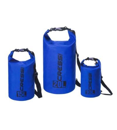 Sac étanche Cressi Swim Dry Bag pour la plongée, apnée, nage, navigation, plage, activités aquatiques & outdoor - 10L, 15L & 20L