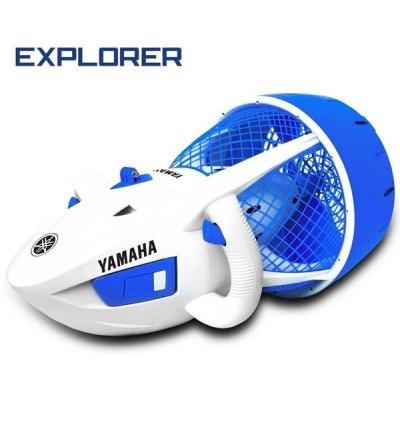 Le scooter électrique Explorer de Yamaha est destiné aux enfants de plus de 8 ans en piscine et en mer jusqu'à 10 mètres