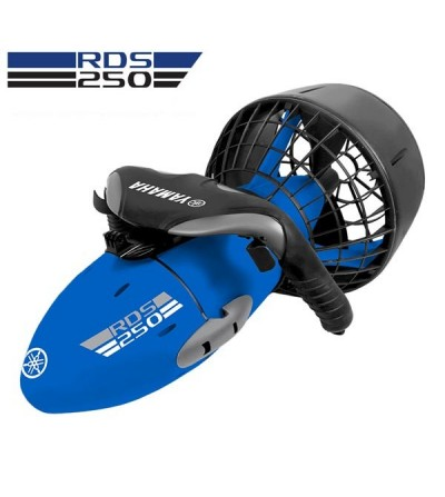 Le scooter électrique RDS 250 de Yamaha est destiné à la plongée loisir jusqu'à 30 mètres ainsi qu'à la randonnée palmée