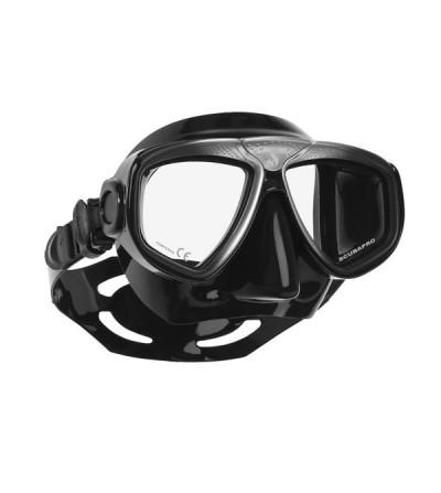 Masque deuMasque deux verres haut de gamme à faible volume Scubapro Zoom Evo avec changement de verre rapide sans outils