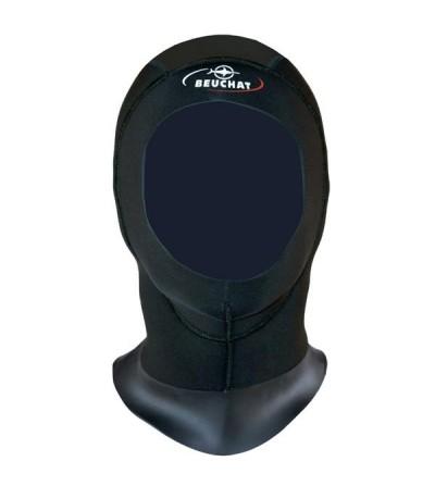 Cagoule homme en néoprène 5mm pour combinaison de plongée humide Beuchat Optima ou autre modèle de la marque