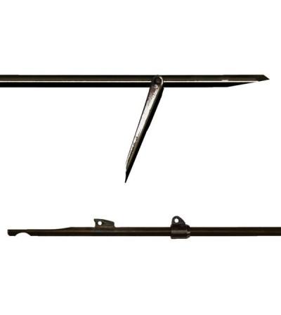 Flèche Tahitienne Beuchat 7mm pour arbalète de chasse sous-marine, planante, plus précise et perforante à 1 aileron soudé