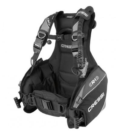Gilet stabilisateur de plongée Cressi R1 - Matériel d'occasion issu du parc de location 2018 - garantie 6 mois