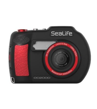 Appareil photo/vidéo numérique Sea Life DC2000 20MP wifi, étanche à 18m seul et 60m avec caisson. Flash, mode macro et rafale