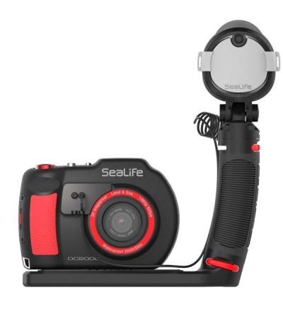 Appareil photo/vidéo numérique Sea Life DC2000 20MP wifi, étanche à 60m + flash led Sea Dragon avec faisceau 80°/100°