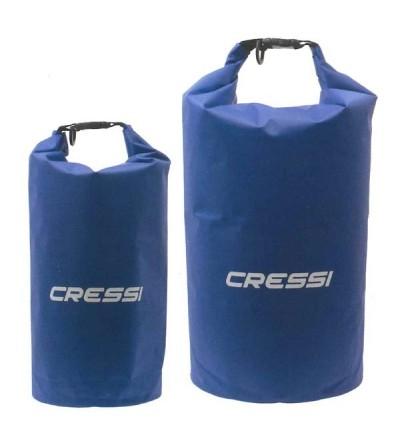 Sac étanche Cressi Dry Tek pour la plongée, apnée, nage, navigation, plage, activités aquatiques et outdoor - 10L & 20L