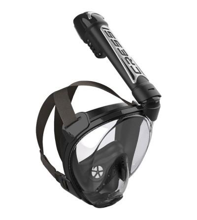 Masque facial avec tuba Cressi Duke pour le snorkeling, PMT et randonnée palmée : plus sûr, confortable, +30% de champ vision