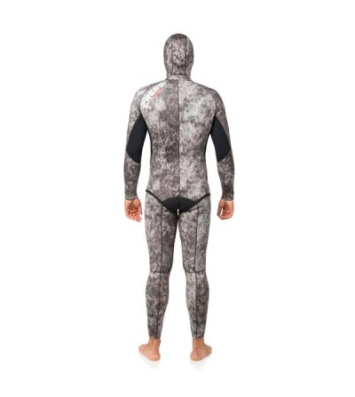 Combinaison 2 pièces veste + pantalon taille haute Cressi Apnea Camouflage en néoprène 7mm - chasse sous-marine & apnée