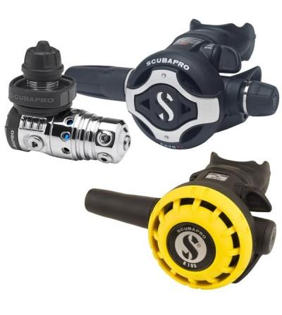 Pack détendeur compensé Scubapro MK25 EVO/ S620Ti /octopus R195 - Ultra performant et résistant au givrage