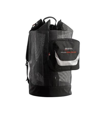 Grand sac à dos de 123 litres en maille PVC robuste Mares Cruise Backpack Mesh Deluxe pour la plongée, nage et snorkeling