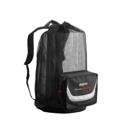 Grand sac à dos léger de 114 litres en maille filet Mares Cruise Backpack Mesh Elite pour la plongée, nage et snorkeling