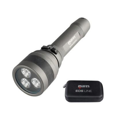 Lampe de plongée rechargeable 2300 lumens à LED Mares EOS 20 RZ avec faisceau réglable de 12° à 75° - 180 minutes d'autonomie