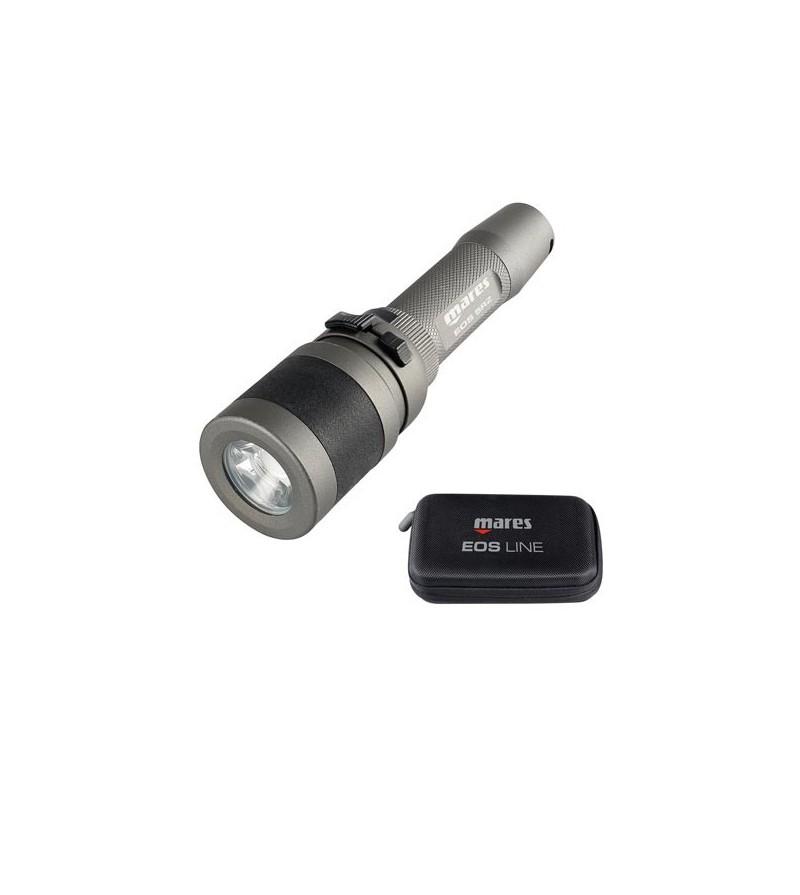 Lampe de plongée rechargeable 500 lumens à LED Mares EOS 5 RZ avec faisceau réglable de 12° à 75° - 270 minutes d'autonomie