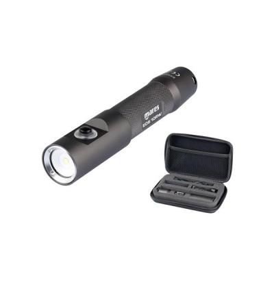 Lampe compacte de plongée rechargeable 1053 lumens à LED Mares EOS 10 RW avec faisceau large 120°