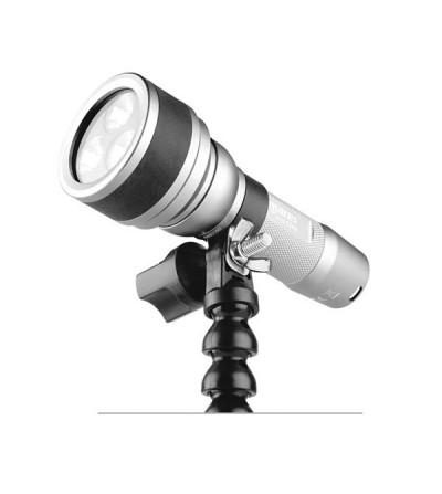 Fixation pour lampe Mares sur bras à rotules avec extrémité YS