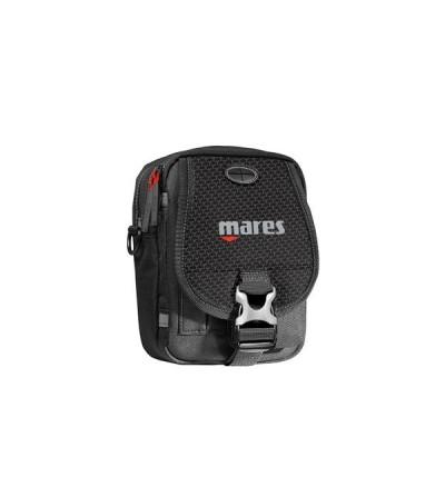 Mini sacoche Mares Cruise Diver pour ordinateur de plongée, interface, accessoires et autres. Compact avec son volume 1 litre