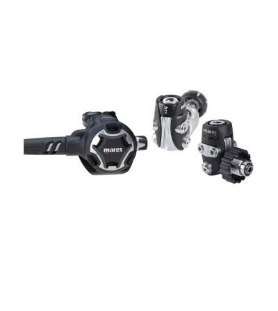 Détendeur compensé de plongée Mares Dual ADJ 52X, ultra compact et léger avec confort respiratoire réglable