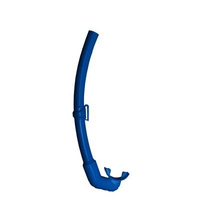 Tuba souple Mares Pure Instinct Element conçu pour une respiration facile en chasse sous-marine et apnée - Bleu