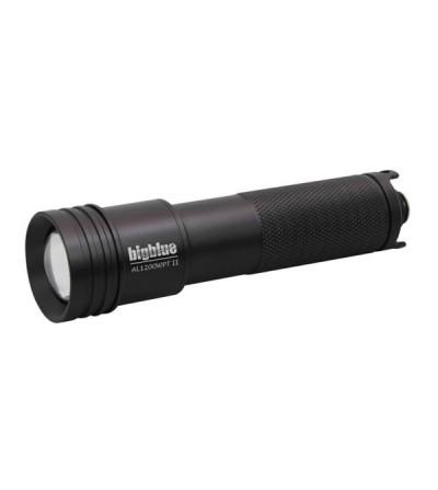 Lampe de plongée à LED bigblue AL1200WP Tail II 1200 lumens avec accu rechargeable pour l'exploration - faisceau large