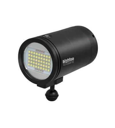 Phare de plongée à LED Bigblue VL33000P II pour l'exploration, photo/vidéo sous-marine - 4 niveaux d'intensité & rechargeable