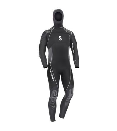 Combinaison humide de plongée Scubapro Definition 7mm pour homme avec cagoule attenante pour l'eau froide