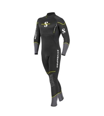 Combinaison humide de plongée Scubapro Sport 3mm (2ème génération) pour homme, souple et confortable comme une seconde peau