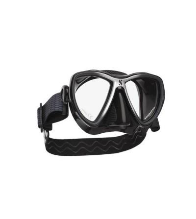 Masque deux verres Scubapro Synergy Mini, jupe Truffit adaptée aux petits visage avec sangle Comfort strap