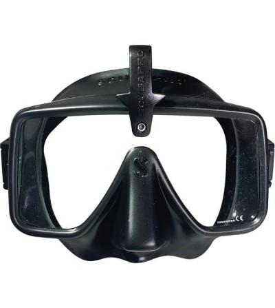 Masque de plongée monoverre Scubapro Frameless de forme rectangulaire avec support HUD
