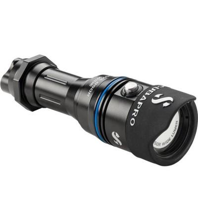 Lampe torche LED de plongée rechargeable Scubapro Nova Light 850R avec faisceau 80° de 800 lumens & étanche à 150m