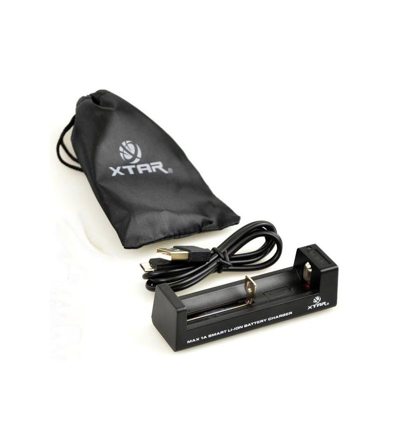 Chargeur USB pour batterie rechargeable X-STAR lithium-ion 18650 pour lampe Scubapro NovaLight 850R & 850R Wide