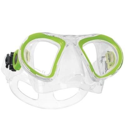 Masque deux verres enfant Scubapro Child 2 avec jupe en silicone anti-allergique pour la plongée et le snorkeling junior