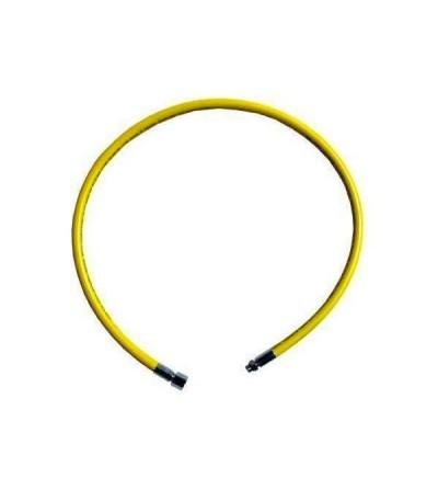 Flexible Aqualung MP 3/8 jaune moyenne pression standard longueur 1 mètre pour octopus