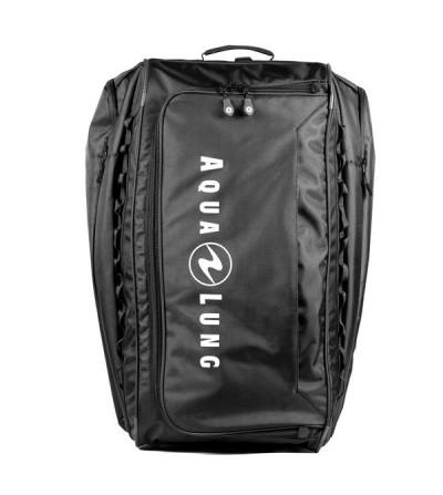 Grand sac de plongée à roulettes Aqualung Explorer II Roller parfait pour les voyages avec son volume de 123 litres
