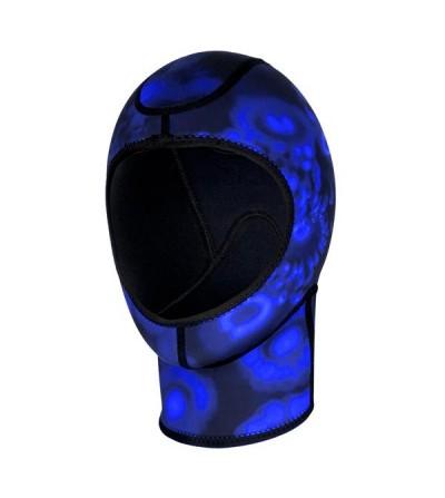 Cette cagoule 3mm est l'accessoire idéal pour compléter les vêtements humides Aqualung. Modèle unisexe pour homme et femme