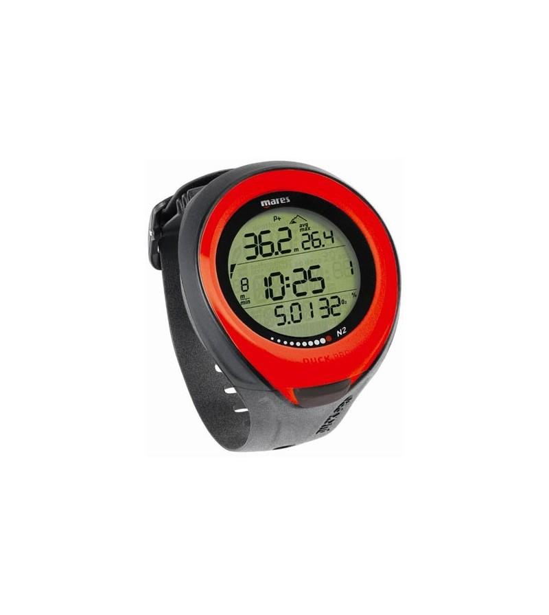 Ordinateur de poignet Mares Puck Pro pour la plongée en eau douce ou salée à l'air, nitrox ou multigaz