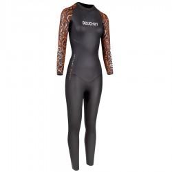 Combinaison Beuchat Crawl C200 monopièce pour le triathlon & la nage en compétition et entrainement régulier