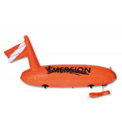 Bouée profilée simple enveloppe Imersion - Dim: 83*30cm - Atelier de la Mer équipement de plongée sous-marine