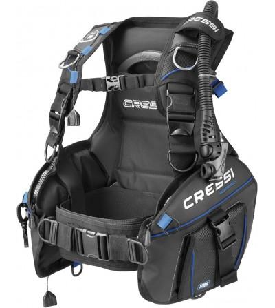 Gilet stabilisateur réglable de plongée Cressi Aquapro 5. Le grand classique de la gamme est entièrement revu en 2016