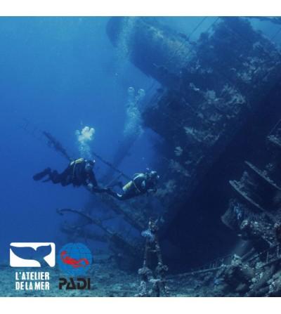 Allez plus loin dans la plongée en bouteille avec la formation PADI Advanced Open Water Diver - Atelier de la Mer - Marseille