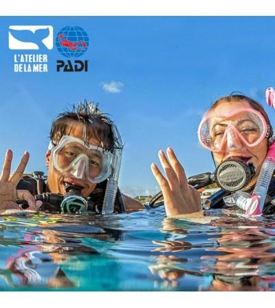 Formation PADI Open Water Diver encadrée par des professionnels à Marseille en 6 plongées