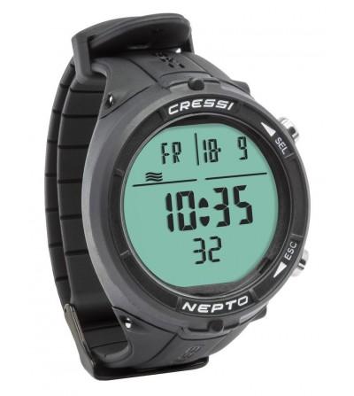 Nepto est une montre-ordinateur extrêmement compacte et spécifique pour les plongées en apnée.Atelier de la Mer Marseille