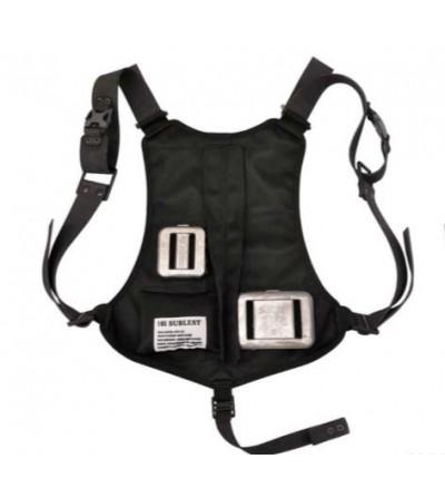 Gilet baudrier 6 poches vides avec largage rapide QuickSafe