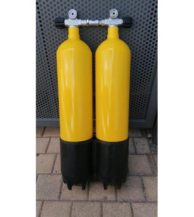 Bi-bouteille 2 x 7,5 litres occasion