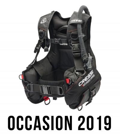 Gilet Stabilistateur réglable de plongée Cressi Start Pro Occasion 2019